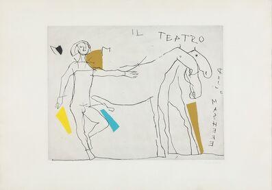 Marino Marini, 'Presentazione I', 1973