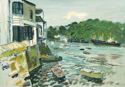 Fred Yates, 'Harbour scene'
