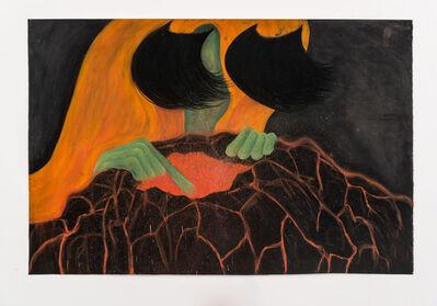 Rebecca Ackroyd, 'Volcano Lover', 2017