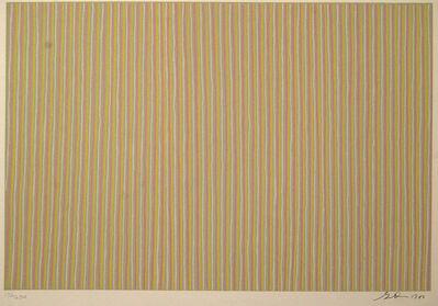 Gene Davis, 'Untitled (signed)', 1980