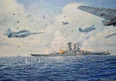 Tony Fachet, 'WWII Naval Battle', 20th Century