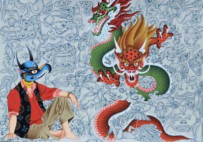 Tsherin Sherpa, 'Madmandu Blues 3', 2018