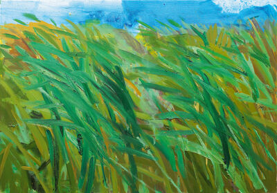 Rainer Fetting, 'Schilf (Reeds)', 2002