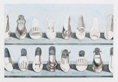 Wayne Thiebaud, 'Shoe Rows', 1979