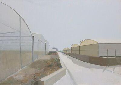 Ana Garcia Perez, 'Ana Carcia Perez: Roads and glasshouses II - oil on board', 2018