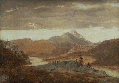 Alexander Helwig Wyant, 'Mountain Vista'
