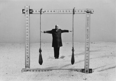 Gilbert Garcin, 'Connaître ses limite - Knowing one's limits', 1997