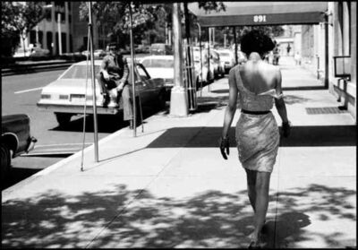 Arthur Elgort, 'Wendy Whitelaw on Park Ave. NYC', 1981