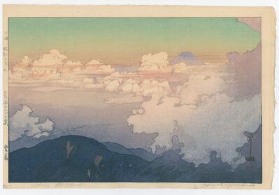 Yoshida Hiroshi, 'Above the Clouds', 1928