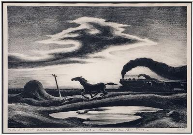 Thomas Hart Benton, 'The Race', 1942