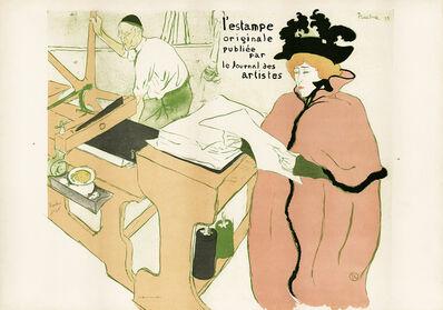 Henri de Toulouse-Lautrec, 'L'Estampe Originale', 1895