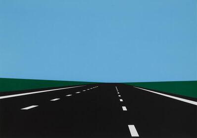 Julian Opie, 'Imagine You Are Driving', 1998-1999
