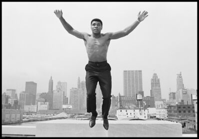 Thomas Hoepker, 'Muhammad Ali jumping from a bridge over the Chicago River', 1966