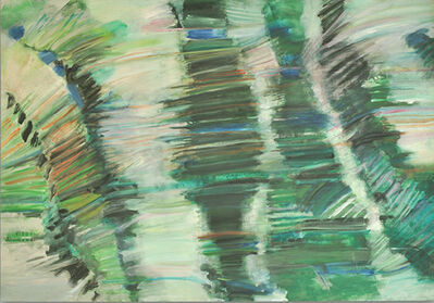 Dina Gustin Baker, 'Barrier Reef', 1987