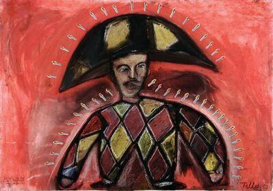 Javier Téllez, 'Retrato de Juan Carlos Palenzuela como Cangaceiro', 1990