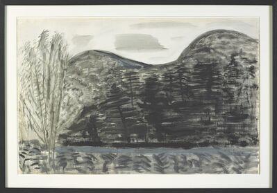 Milton Avery, 'Trees and Trees', 1962