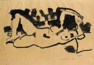 Antonio Scordia, 'Lying Naked', 1955