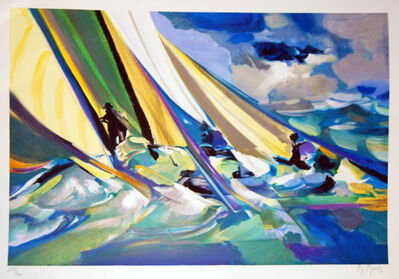 Marcel Mouly, 'La Vague a l'Arc', 2001