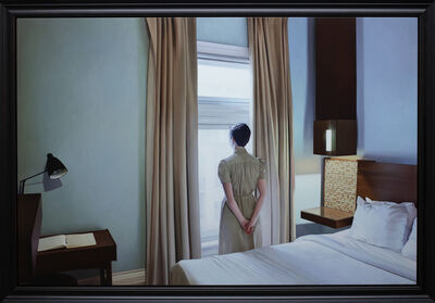Shaun Downey, 'The Writer at the Window', 2018