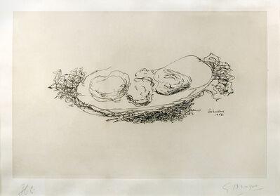 Georges Braque, 'Les huitres', 1953