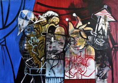 Sergio Moscona, 'Three was already a crowd', 2018
