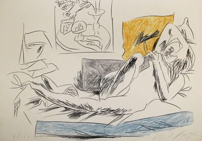 Pericle Fazzini, 'Reading Nude', 1972