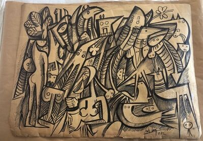 Wifredo Lam, 'Untitled', 1972