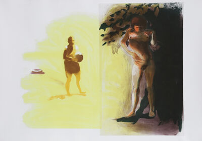 Eric Fischl, 'I from Beach Scenes Series', 1989