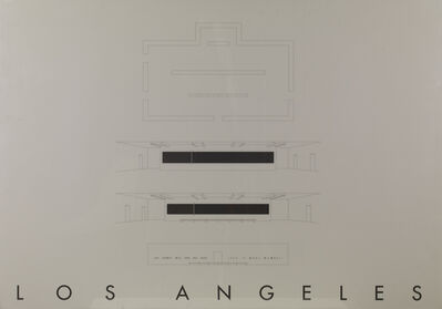 Gerhard Merz, 'Los Angeles', 1993