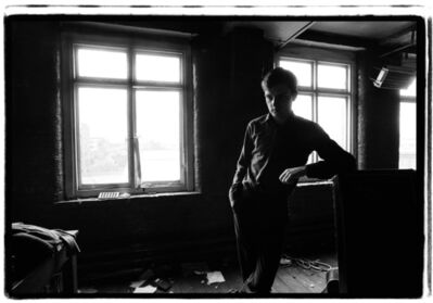 Kevin Cummins, '2. Ian Curtis, Joy Division. TJ Davidson rehearsal room, Little Peter Street, Manchester, 19 August 1979', 2006