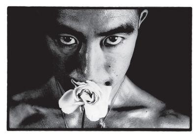 Eikoh Hosoe, 'Ordeal by roses,#32'