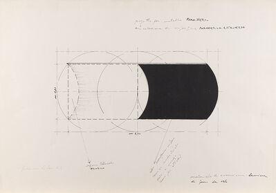 Francesco Lo Savio, 'Progetto per metallo parasferico, articolazione di superficie parasferica estroversa. Progetto G', 1962