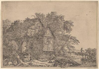 Jacob van Ruisdael, 'The Little Bridge'