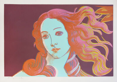 Andy Warhol, 'Details of Renaissance Paintings: Sandro Botticelli, Birth of Venus', 1984