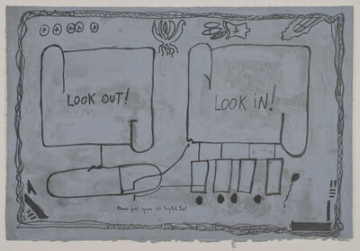 Jimmie Durham, 'Look Out Look In', 1992