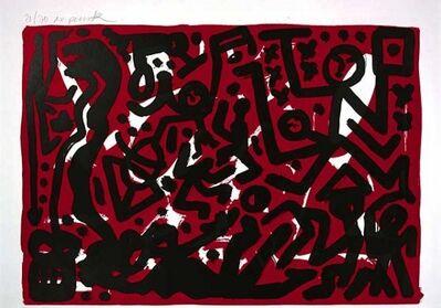 A.R. Penck, 'Lausanne 2 Aber Hallo', Unknown
