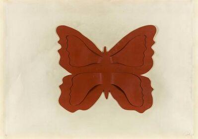 Mario Ceroli, 'Butterfly', 1970