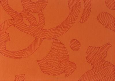 Carla Accardi, 'Aranciorosso', 2005