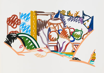 Tom Wesselmann, 'Monica Nude with Cezanne', 1994