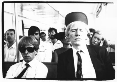Bob Colacello, 'Andy Warhol with Rupert Smith, His Silkscreen Printer, on a Ferry to Fire Island 1979', 1979