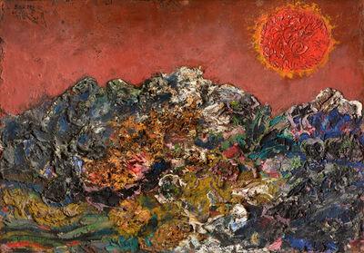 Antonio Berni, 'El cielo rojo', 1960