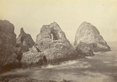 Carleton E. Watkins, 'Sugarloaf Islands at Fisherman's Bay, Farallon Islands', 1869