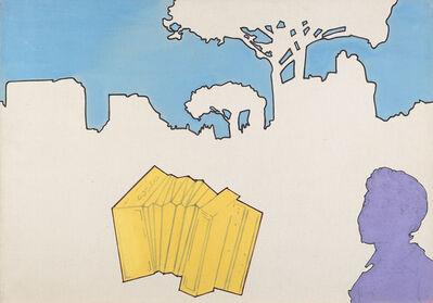 Renato Mambor, 'Natura morta e paesaggio', 1965