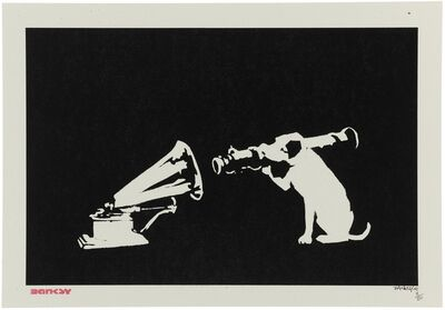 Banksy, 'HMV (Rocket Dog)', 2003