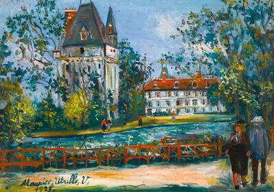 Maurice Utrillo, 'Château de Saintines, Oise', 1925