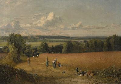John Constable, 'The Wheat Field', 1816