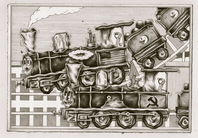 Ryan Travis Christian, 'Party Train', 2018