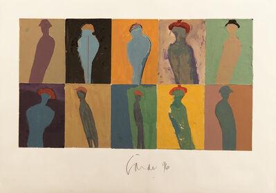 Harold Garde, 'Ten Men', 1996