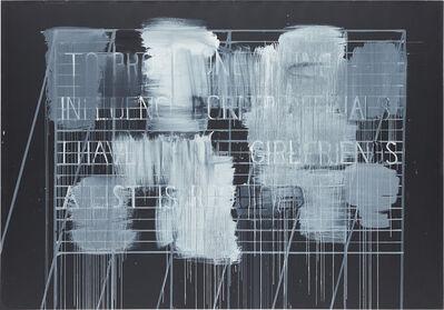 Christian Vetter, 'Sentences (Proof)', 2010