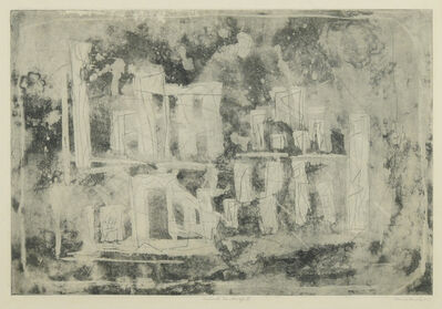 Louise Nevelson, 'Ancient Landscape II (Ancient City)', 1953